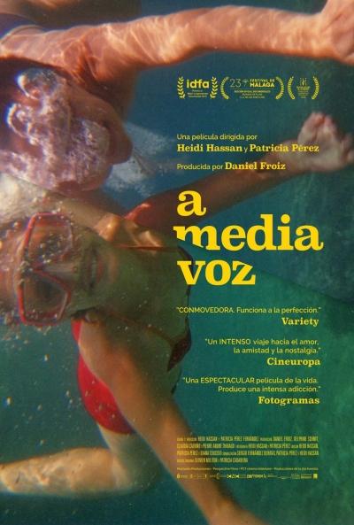 Cartel de A media voz, un documental en los estrenos del 18 de diciembre
