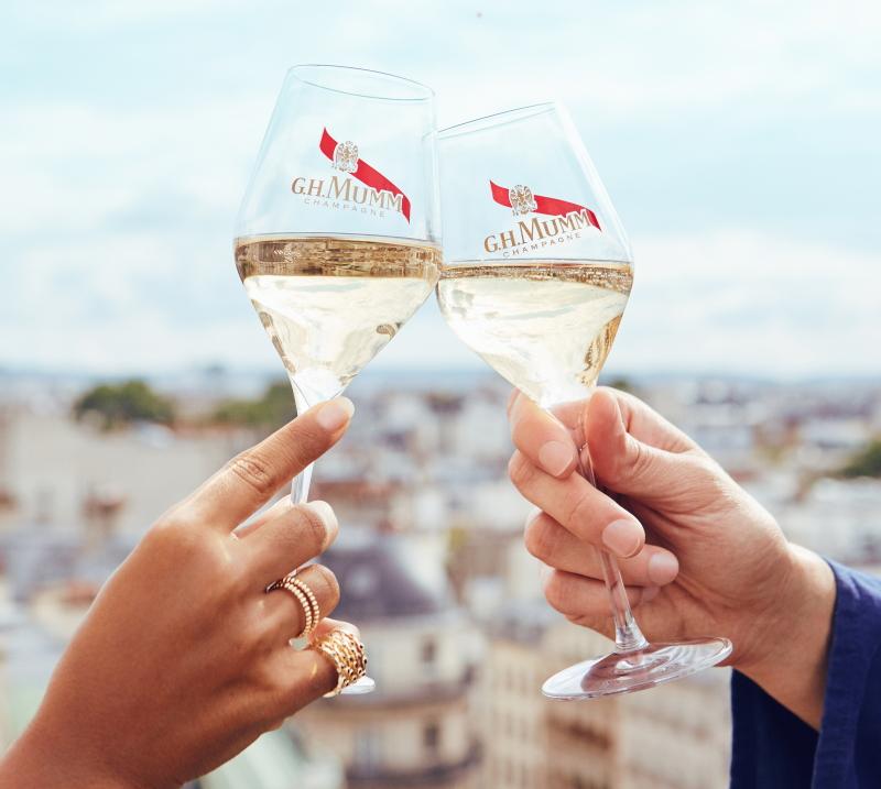 Copas de vino blanco o forma de tulipán para el brindis perfecto.