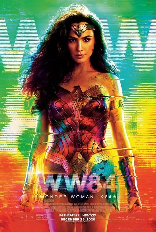 Cartel de Wonder Woman 1984, el blockbuster entre los estrenos del 18 de diciembre