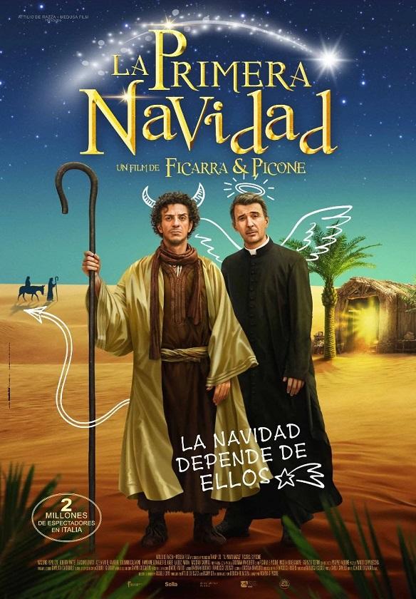 Cartel de La primera Navidad. Una comedia de tintes navideños para los estrenos del 11 de diciembre