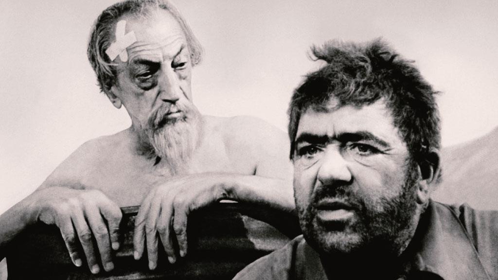 Escena de el Quijote de Welles