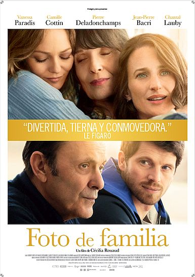 Cartel de Foto de familia. Una comedia francesa entre los estrenos del 23 de diciembre.