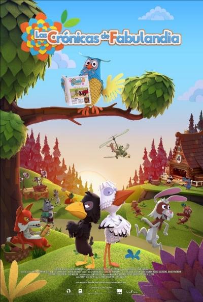 Cartel de Las Crónicas de Fabulandia, la animación entre los estrenos del 18 de diciembre