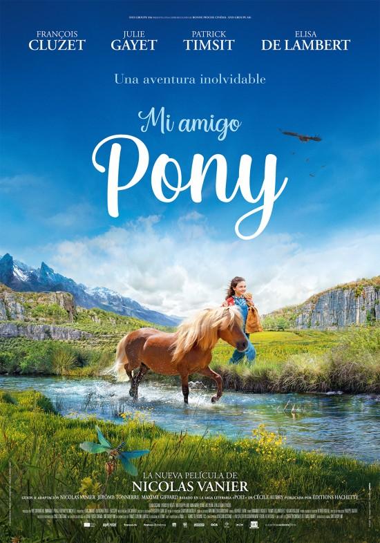 Cartel de Mi amigo Pony. Una cinta infantil entre los estrenos del 30 de diciembre