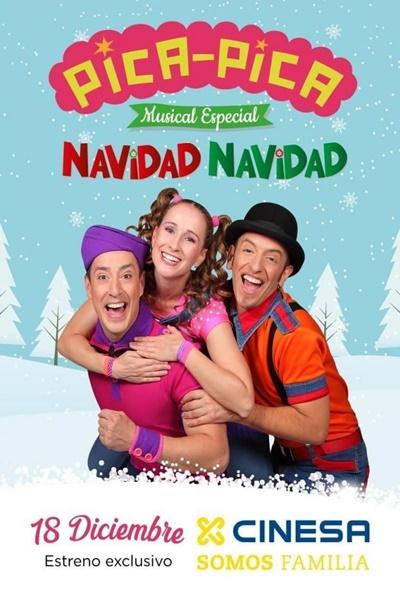 Cartel de Pica Pica: Especial Navidad Navidad