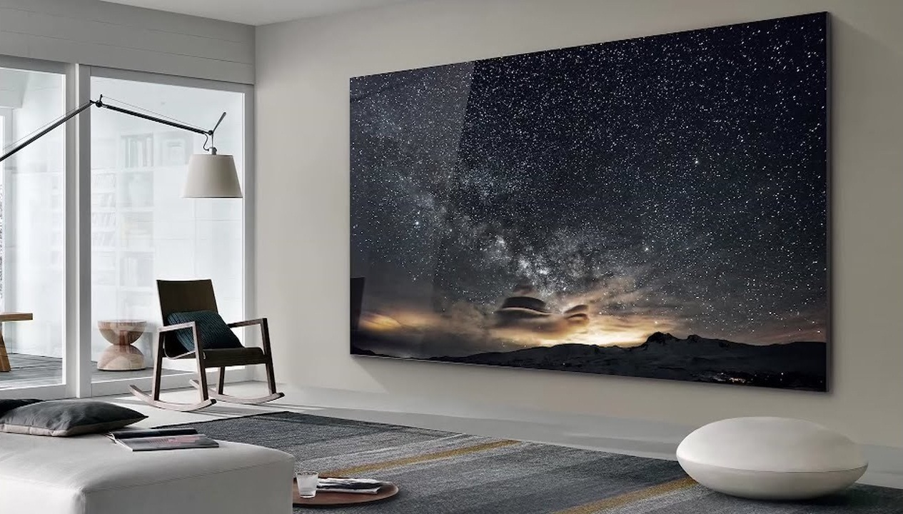 Samsung lanza una televisión gigante de 110 pulgadas y 4K de MicroLED de  nueva generación - FANFAN