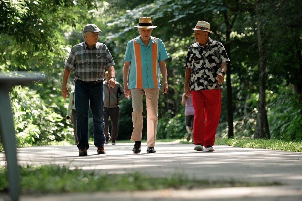 Robert De Niro, Christopher Walken y Cheech Marin. Ed y su pandilla
