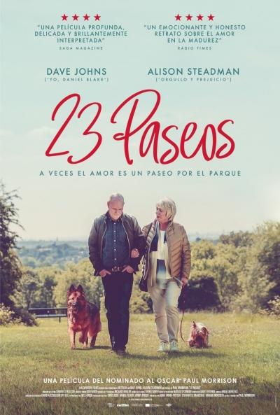 Cartel de 23 paseos, estrenos del 15 de enero