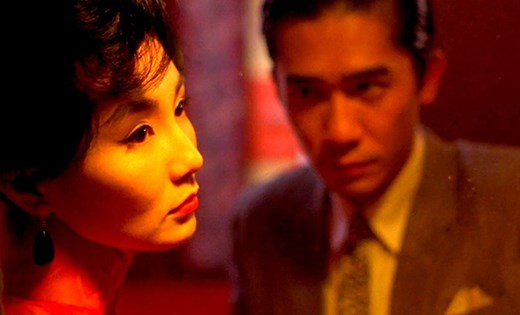 Maggie Cheung y Tony Leung