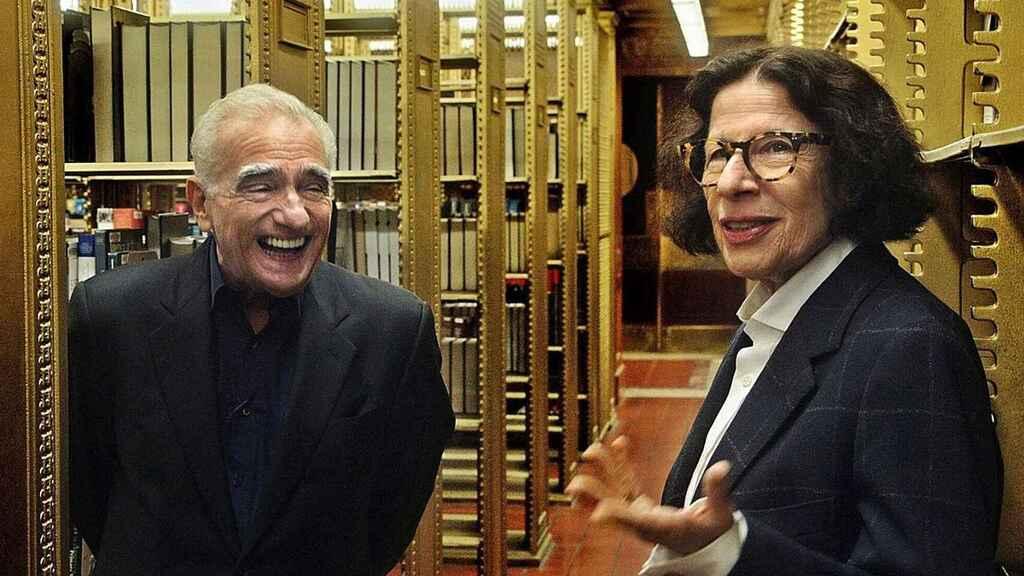 Fran Lebowitz y Martin Scorsesse