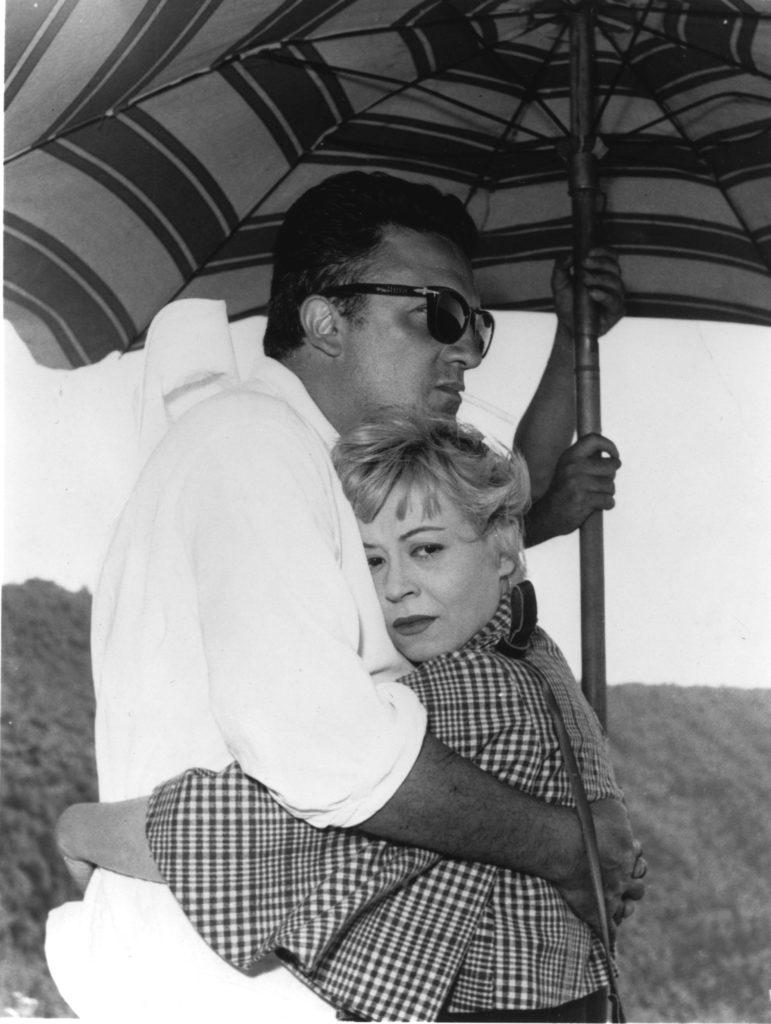 Federico Fellini y Giulietta Masina. un amor tormentoso