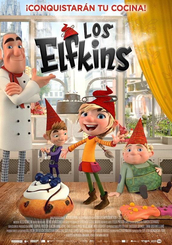 Cartel de Los Elfkins, la animación infantil entre los estrenos del 15 de enero