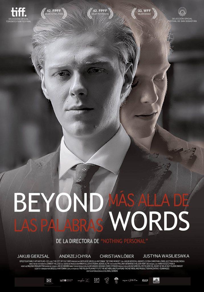 Cartel de Más allá de las palabras