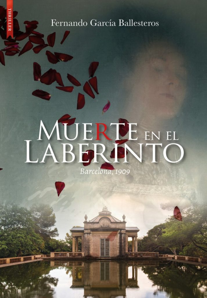 POrtada de 'Muerte en el laberinto' de Fernando García Ballesteros