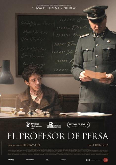 Cartel de El profesor de persa