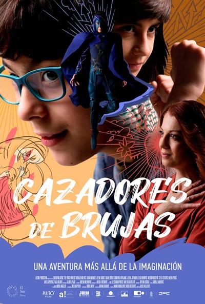 Cartel de Cazadores de brujas, aventuras juveniles entre los estrenos del 22 de enero