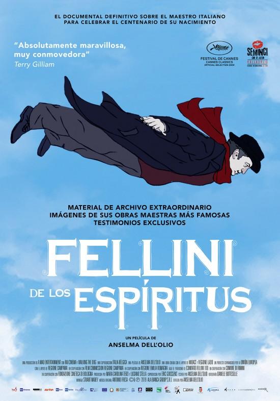 Cartel de Fellini de los espíritus