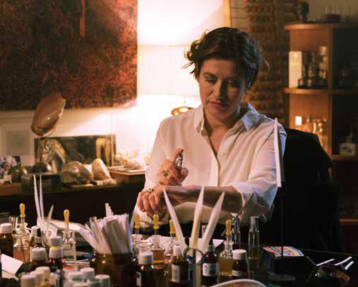 Anne trabajando