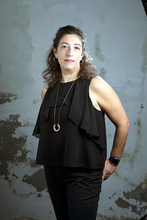 Foto de archivo de María Frisa, autora de El nido de la araña