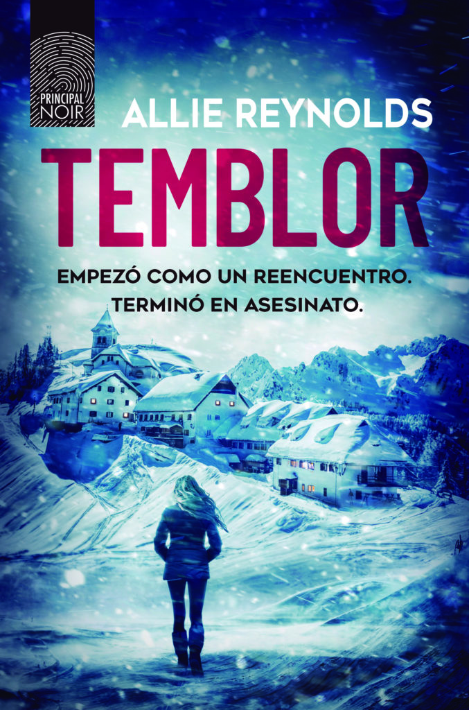 Portada de 'Temblor' de Allie Reynols, un thriller perturbador