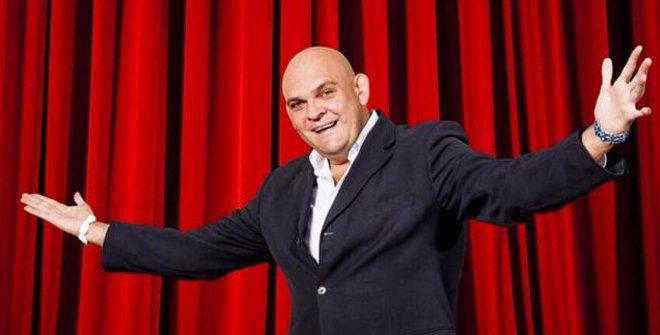 Luis Lara, protagonista de Comandante Lara & Cia, es un profesional de la comedia de largo recorrido.