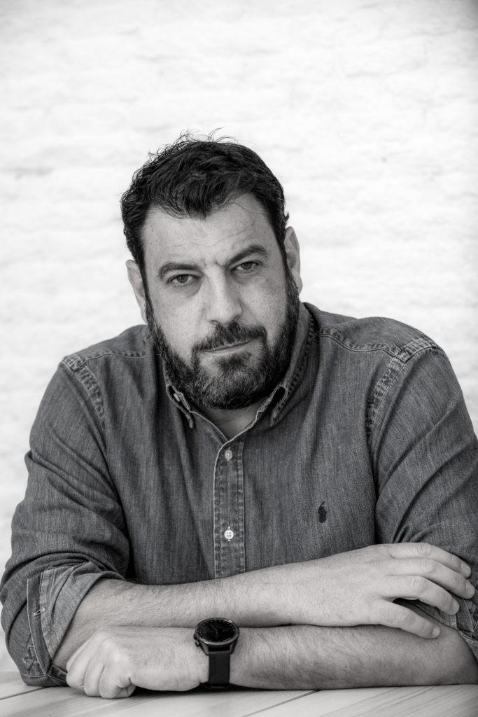 Foto de Santiago Díaz, autor de El buen padre