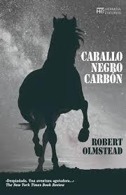 caballo negro carbón
