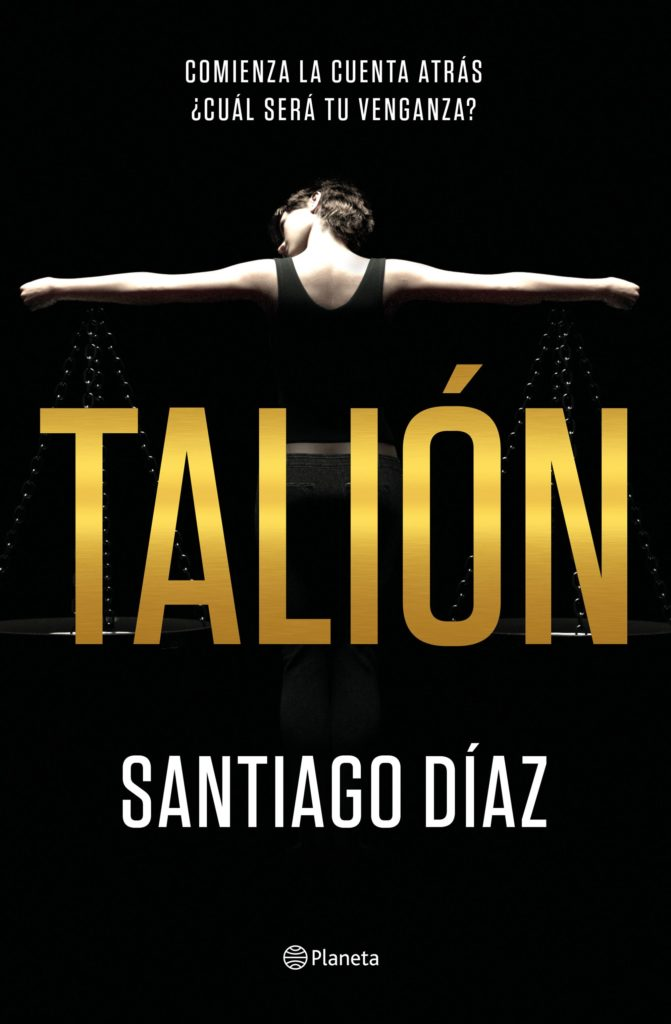Portada de Talión, la primera novela de Santiago Díaz