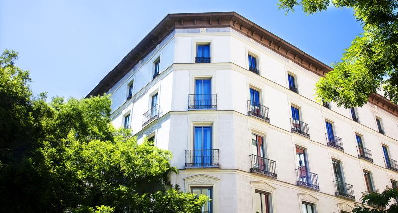 Fachada hotel Tótem Madrid