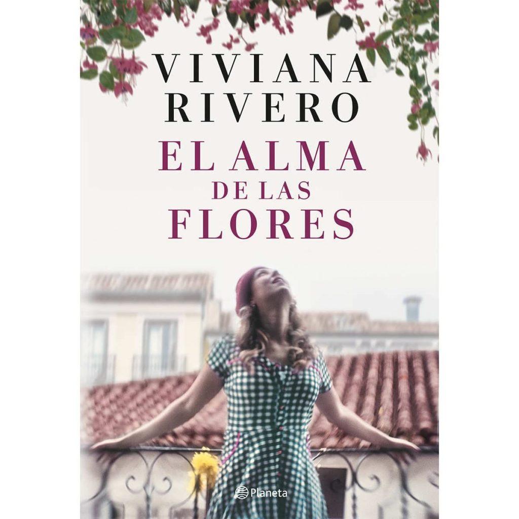 Portada de 'El alma de las flores' de Viviana Rivero