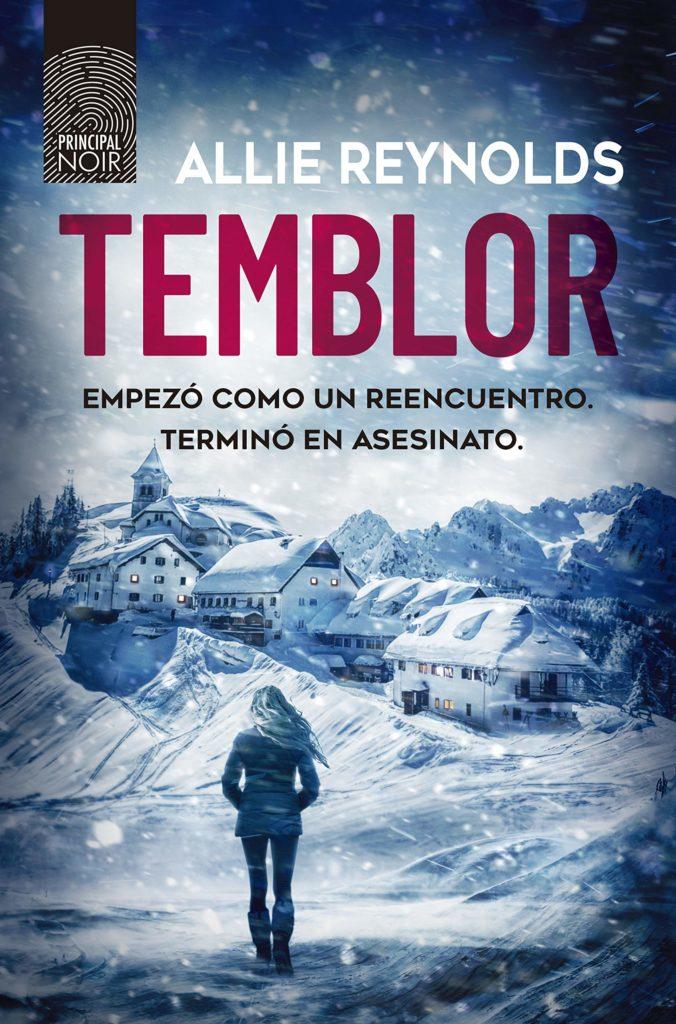 """Portada de el libro """"Temblor"""" de Allie Reynols"""