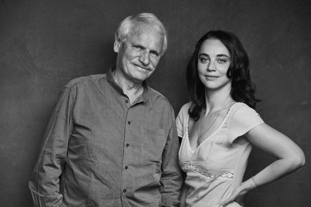 Yann Arthus-Bertrand y Anastasia Mikova, codirectores