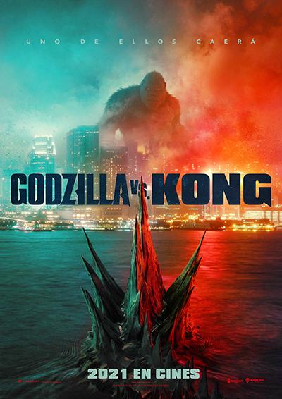 Cartel de Godzilla vs. Kong, un blockbuster en los estrenos del 26 de marzo