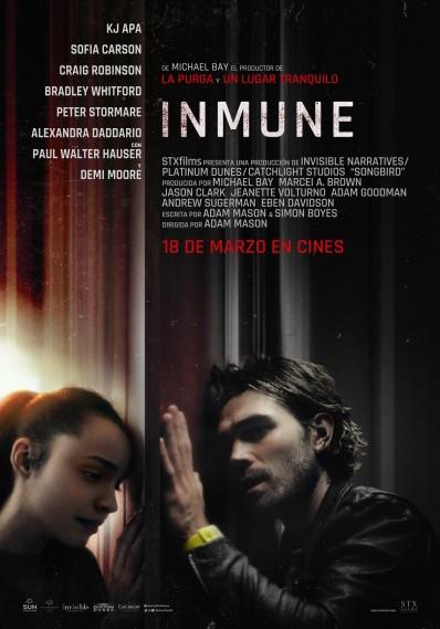 Cartel de Inmune. Una cinta sobre la pandemia en los estrenos del 18 de marzo