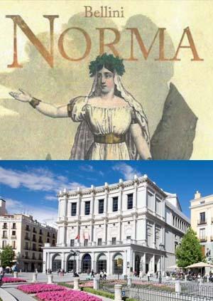 El Teatro Real apuesta por un montaje clásico de Norma, una de las mejores óperas para los cantantes por su colorismo