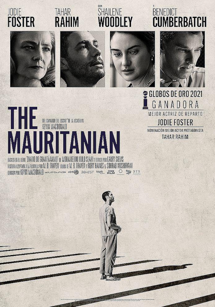 Cartel de The Mauritanian