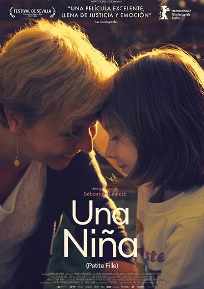 Cartel de Una niña. Entre los estrenos del 12 de marzo, la más valorada es una película documental
