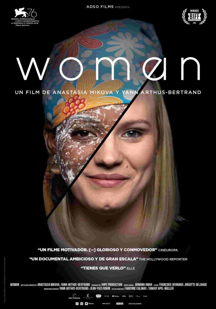 Cartel de Woman, un documental sobre la mujer entre los estrenos del 5 de marzo