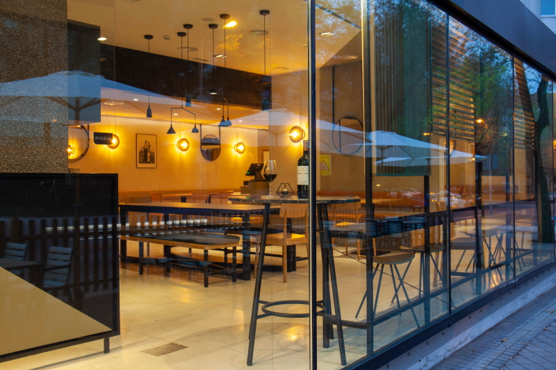 Restaurante Popa sala