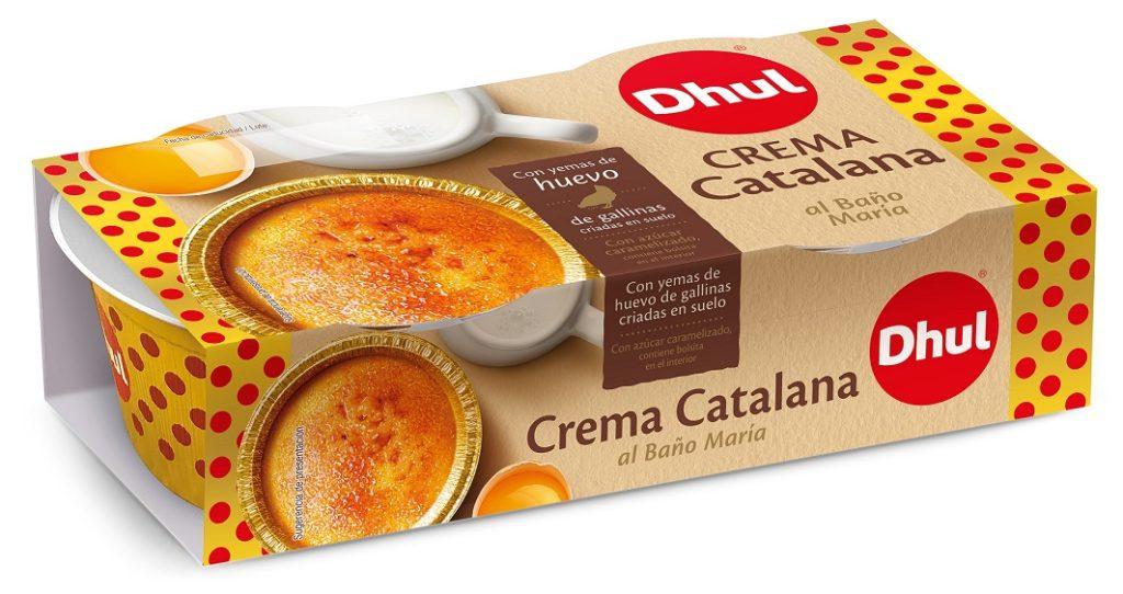 Crema catalana al baño maría
