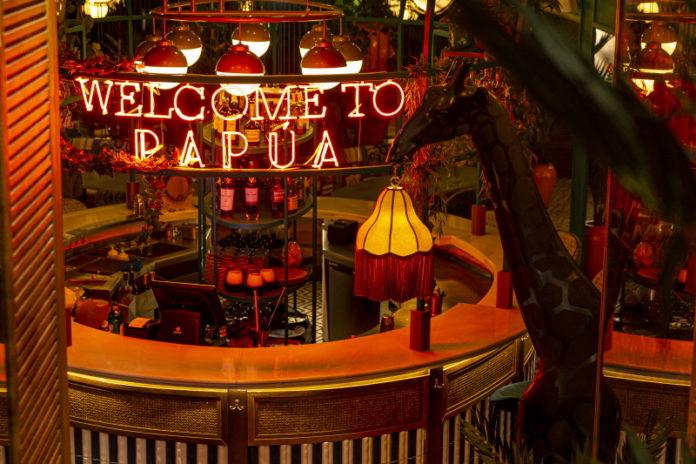 Entrada restaurante Papúa Colón
