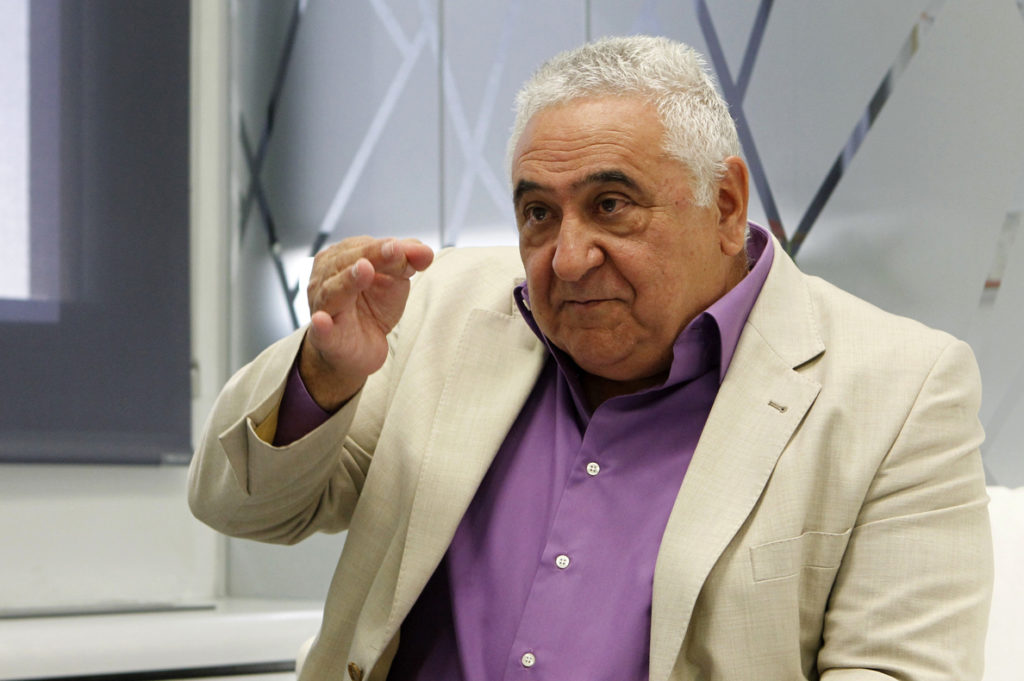 Tomás Gutiérrez, presidente de Hostelería de Madrid