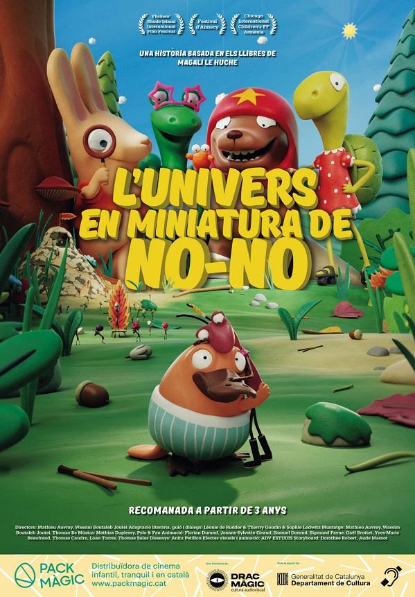 Póster de L'univers en miniatura de No-No