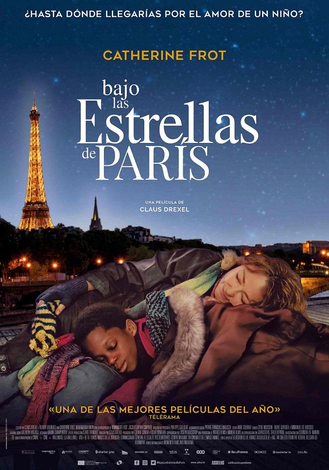 Póster de Bajo las estrellas de París