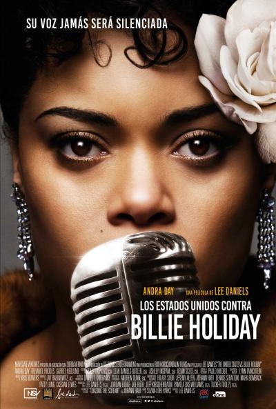 Póster de Los Estados unidos contra Billie Holiday