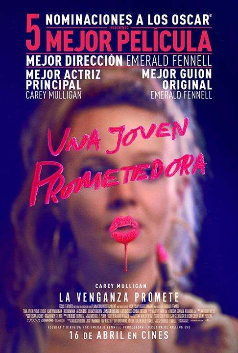 Póster de Una joven prometedora. La película destacada en los estrenos del 16 de abril