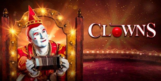 El espectáculo Clowns incluye a payasos de diferentes países