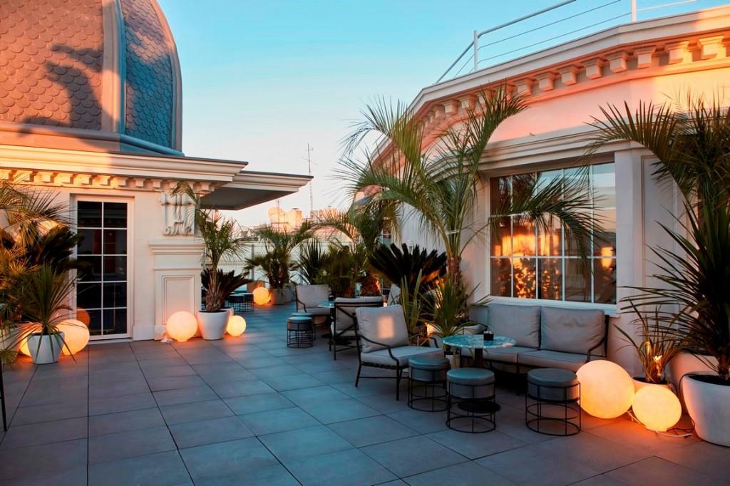 El brunch del Hotel Hyatt Centric Gran Vía se ahora se celebra en su espectacular terraza