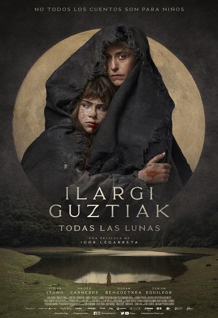 Póster de Ilargi Guztiak. Todas las lunas