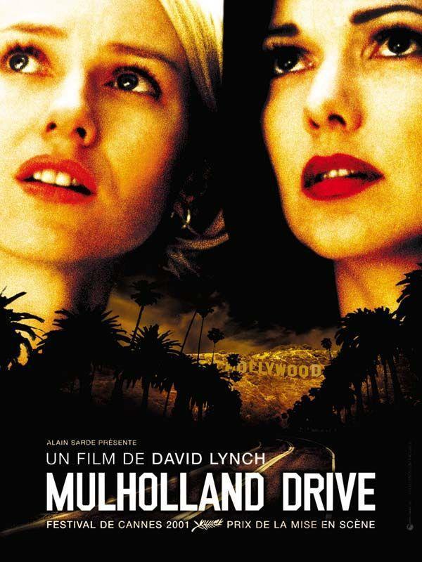 Póster de Mulholland Drive, película con la que arranca el Universo David Lynch